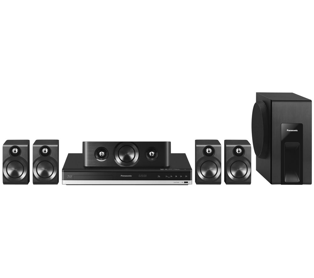 PANASONIC  SCBTT405EBK 5.1 Smart 3D Bluray & DVD Home Cinema System