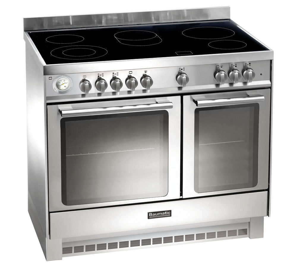 Electric Range Cookers ~ Baumatic bce ss electric ceramic range cooker review