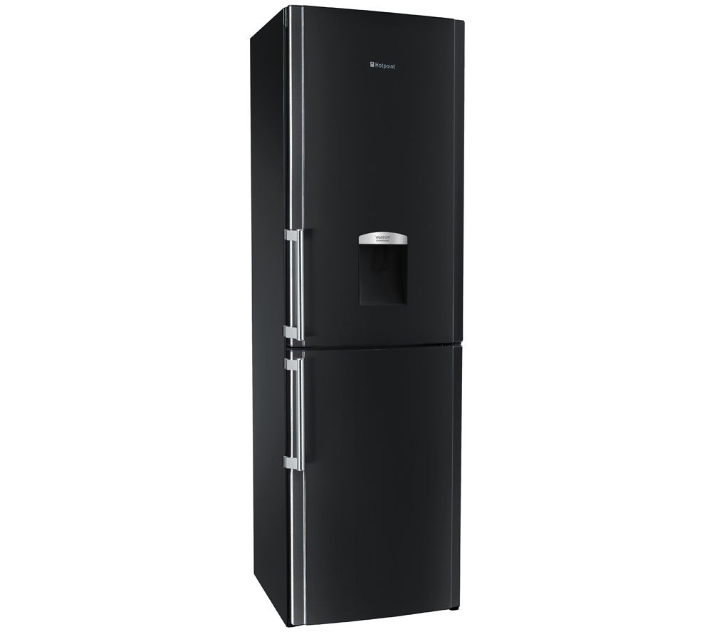 buy hotpoint fflaa58wdk 60 40 fridge freezer black. Black Bedroom Furniture Sets. Home Design Ideas