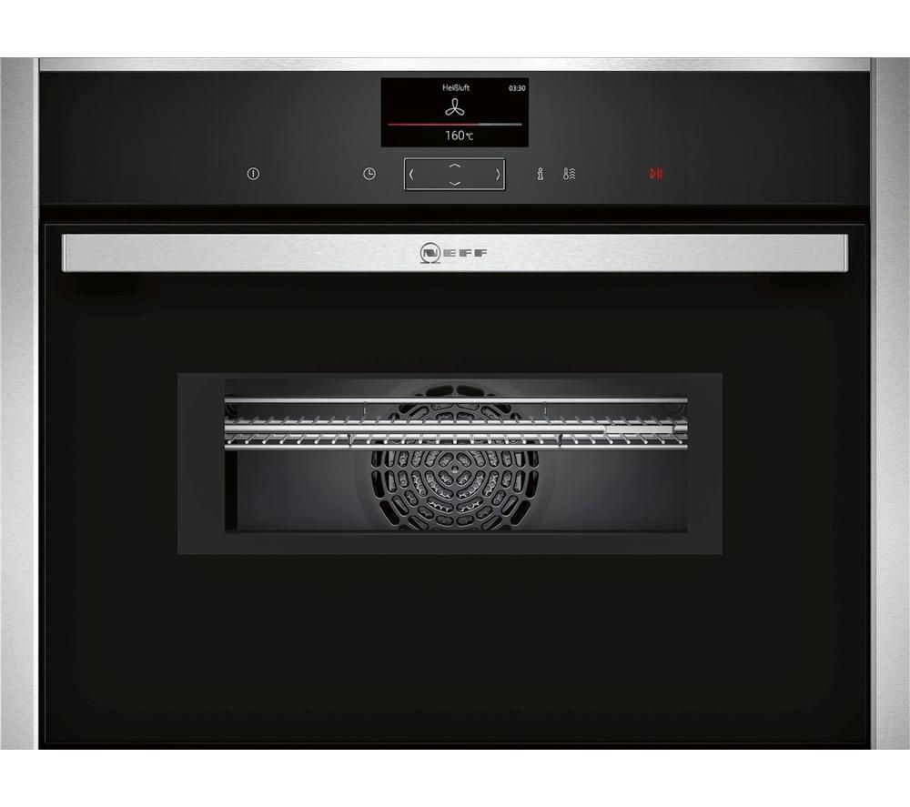NEFF C17MS32N0B Built-in Combination Microwave - Black