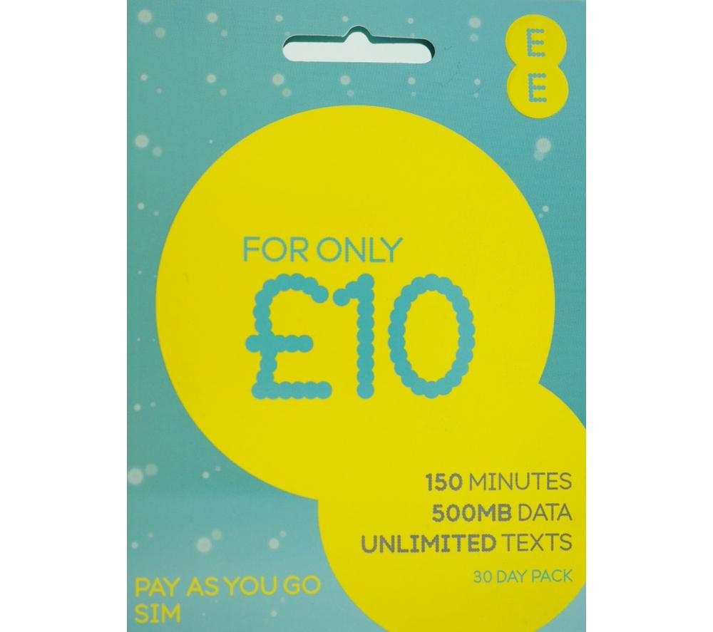EE Pay As You Go Combi SIM