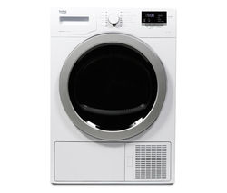 BEKO Select DSX83410W Heat Pump Tumble Dryer - White