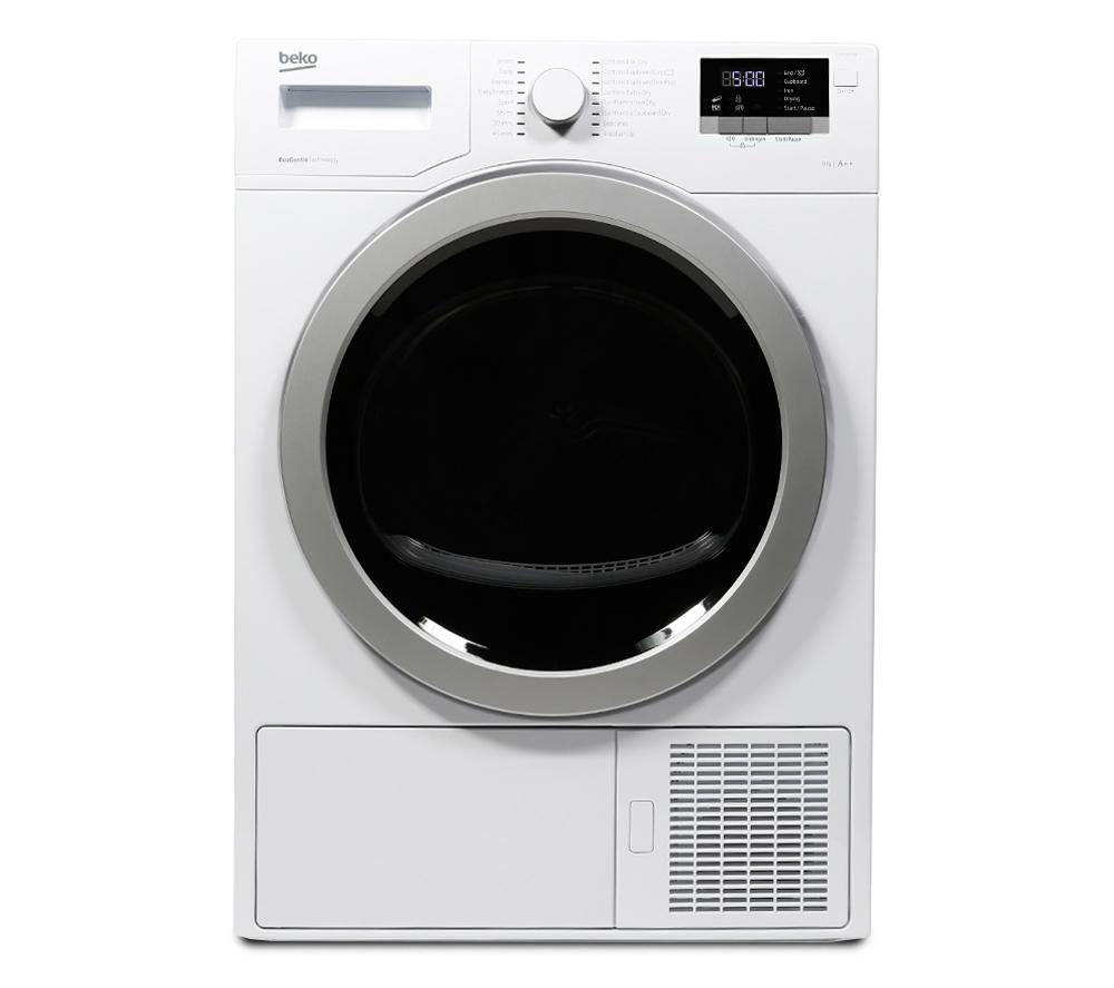 BEKO  Select DSX83410W Heat Pump Tumble Dryer  White White