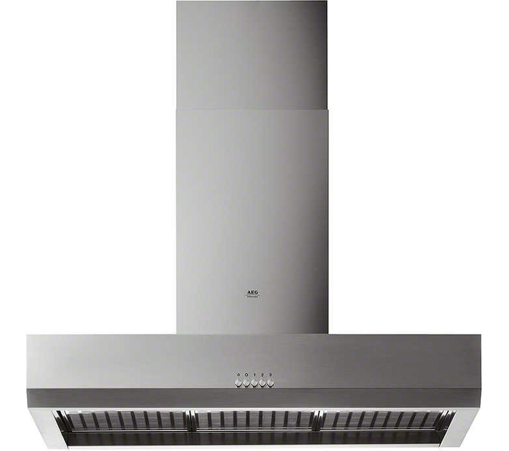 AEG  HD8510M Chimney Cooker Hood ? Stainless Steel Stainless Steel