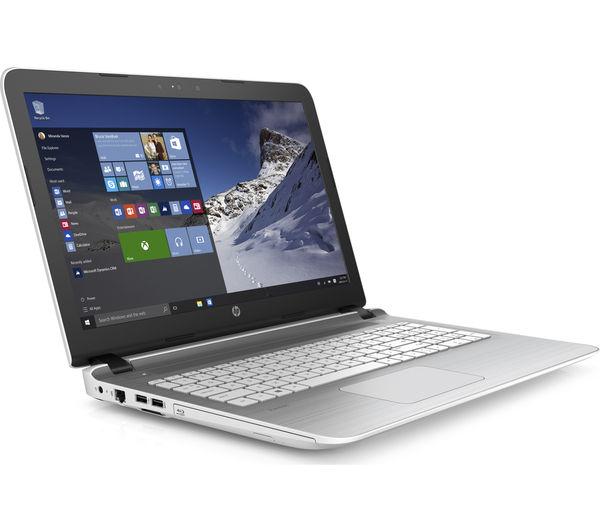 "Image of HP Pavilion 15-ab269sa 15.6"" Laptop - White"