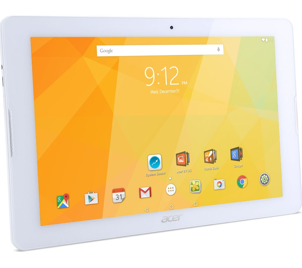 "ACER Iconia One 10"" Tablet - 16 GB, White"