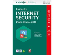 KASPERSKY Internet Security 2016 Multi Device (1 Device, 1 Year)