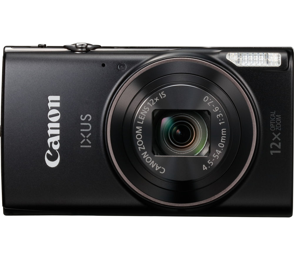 Image of CANON IXUS 285 HS Compact Camera - Black, Black