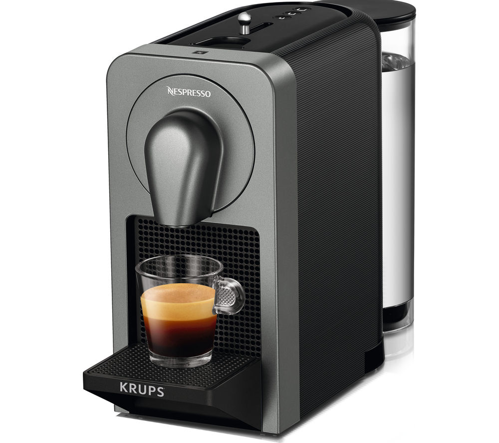 NESPRESSO  By Krups Prodigio XN410T40 Smart Coffee Machine  Black Black