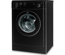 INDESIT IDV75BK Vented Tumble Dryer - Black