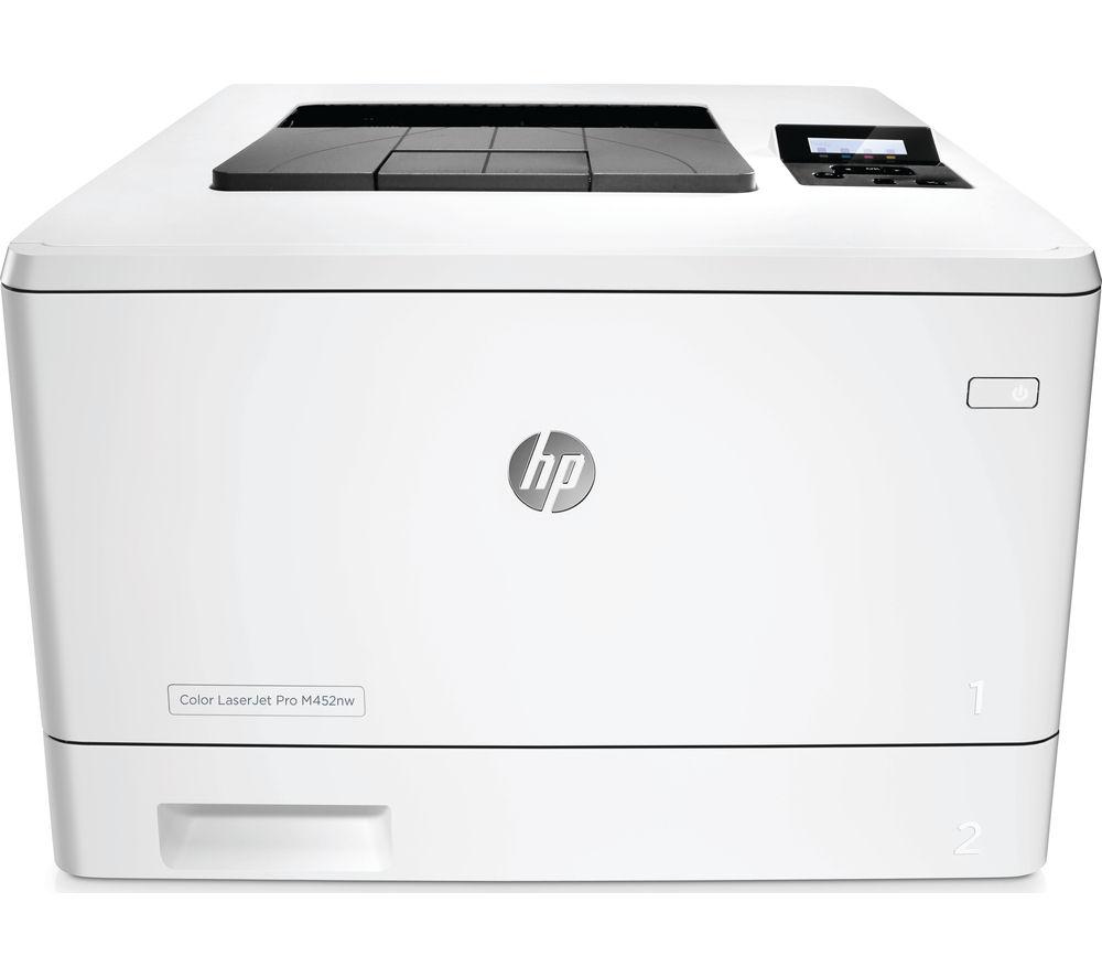 Image of HP LaserJet Pro M452NW Wireless Laser Printer