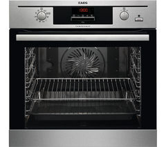 AEG BP500452DM Electric Oven - Stainless Steel