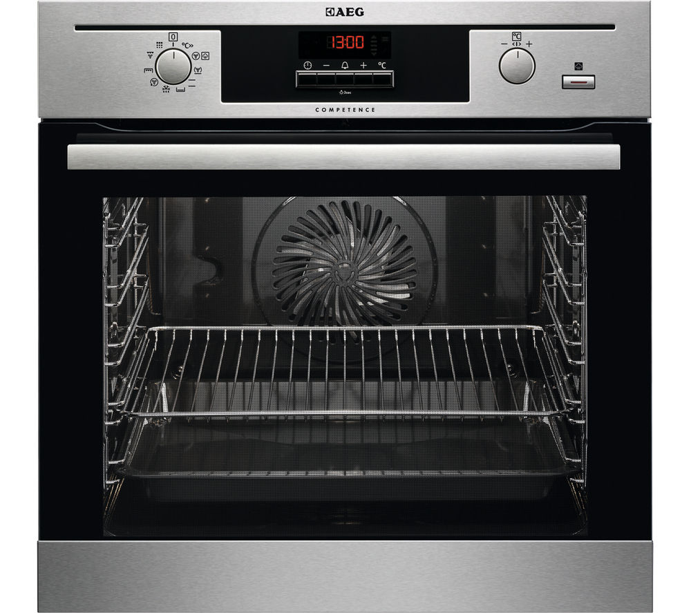 AEG  Steambake BP500452DM Electric Oven  Stainless Steel Stainless Steel
