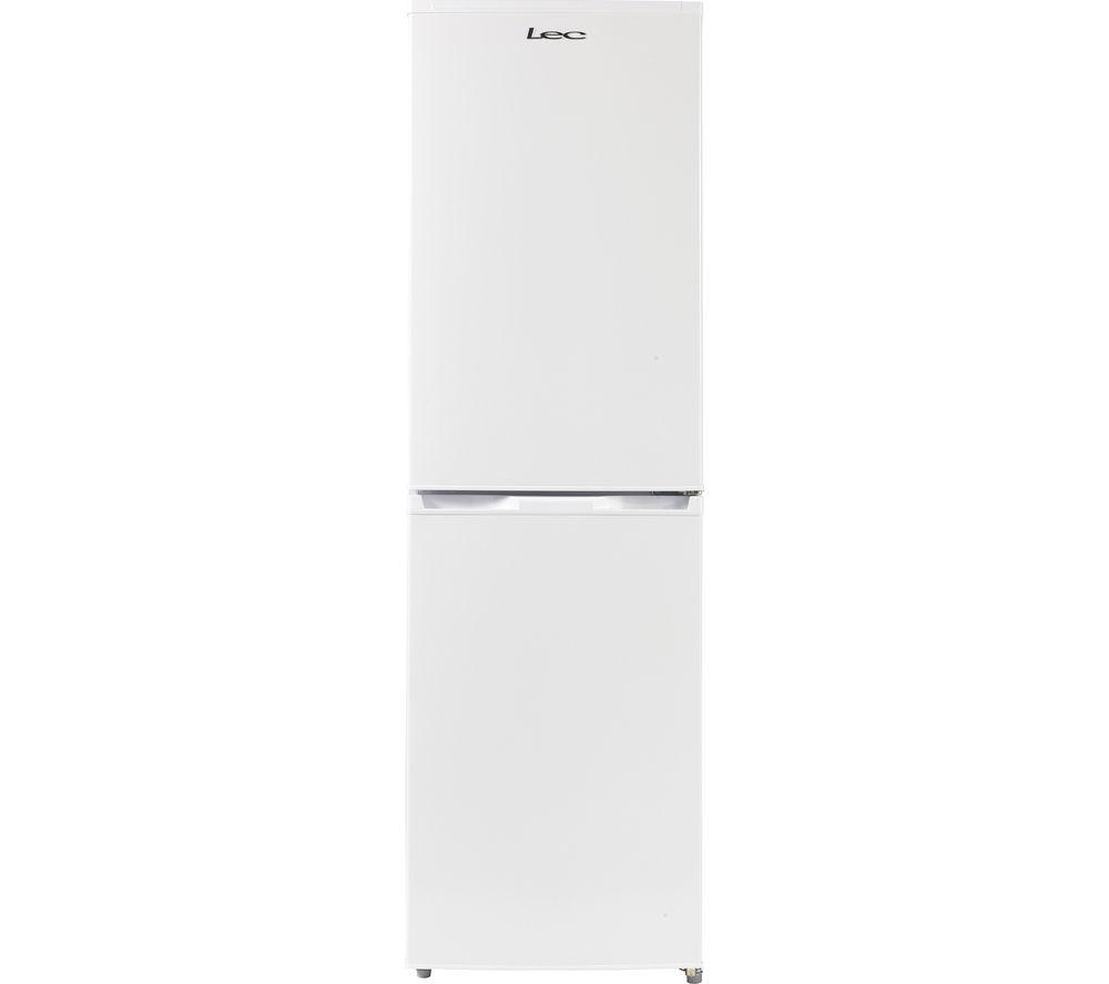 LEC  TF55185W Fridge Freezer  White White