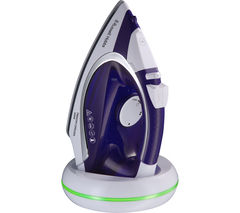 RUSSELL HOBBS Freedom 23300 Cordless Steam Iron - Purple & White