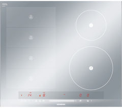 SIEMENS iQ700 flexInduction EH679MN27E Electric Induction Hob - Stainless Steel