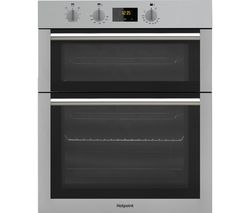 HOTPOINT Class 4 DD4 541 IX Electric Double Oven - Stainless Steel