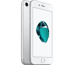 APPLE iPhone 7 - Silver, 128 GB