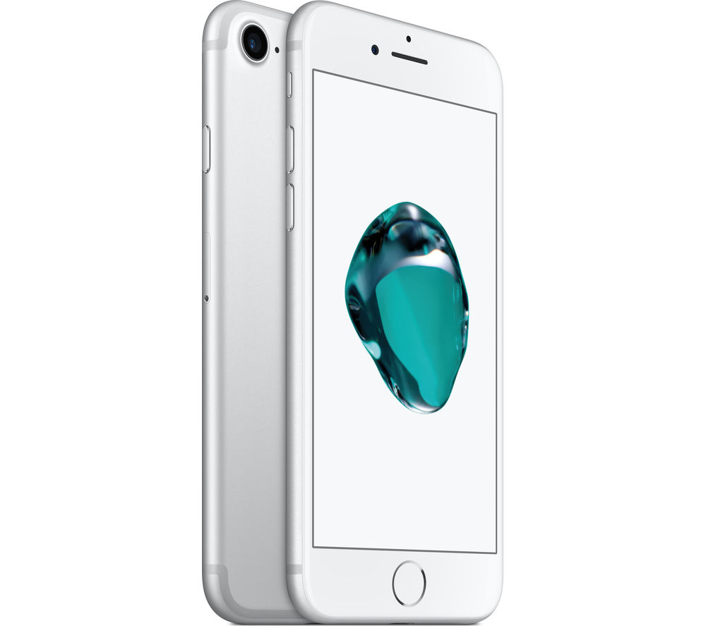 Image of APPLE iPhone 7 - Silver, 128 GB, Silver