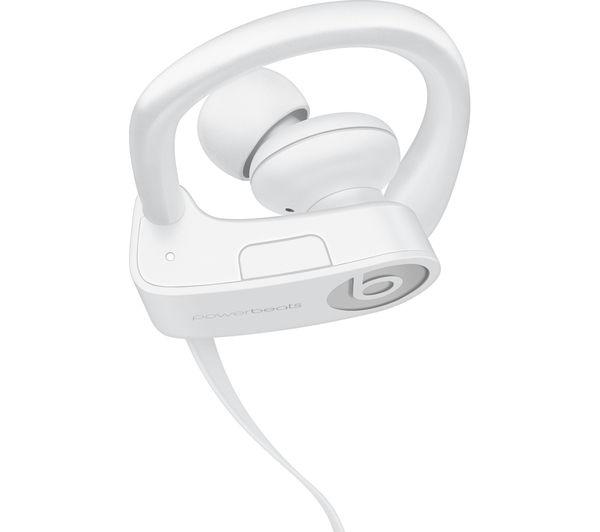 beats by dr dre powerbeats3 wireless bluetooth headphones white deals pc world. Black Bedroom Furniture Sets. Home Design Ideas