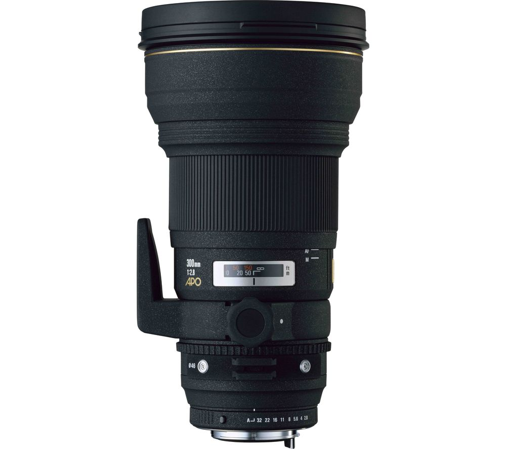 SIGMA 300 mm f/2.8 EX DG APO HSM Telephoto Prime Lens - for Nikon