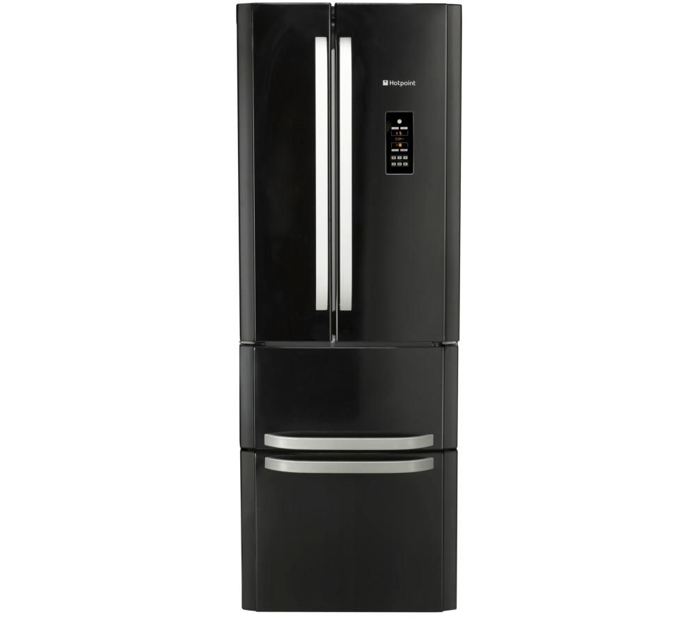 HOTPOINT  FFU4DGK Fridge Freezer  Black Black