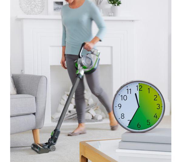 vax blade 24v ultra cordless vacuum cleaner titanium u0026 green - Cordless Vacuum Cleaner