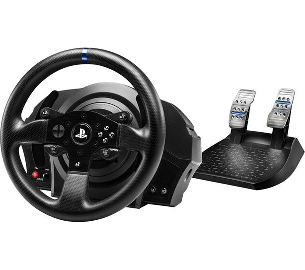 THRUSTMASTER T300 RS Racing Wheel & Pedals - with Sebastien Loeb Rally Evo for PS4
