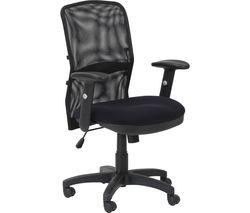 ALPHASON Dakota Tilting Operator Chair - Black