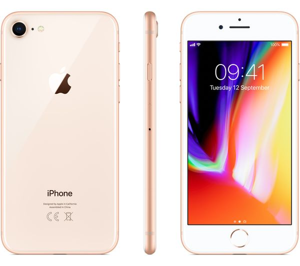 buy apple iphone 8 256 gb gold free delivery currys. Black Bedroom Furniture Sets. Home Design Ideas