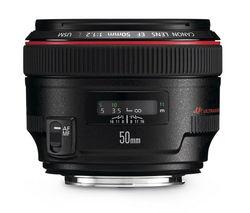 CANON EF 50 mm f/1.2 USM Standard Prime Lens