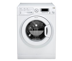 HOTPOINT WDUD9640P Washer Dryer - White