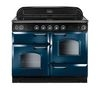 RANGEMASTER Classic 110 Electric Induction Range Cooker - Blue & Chrome