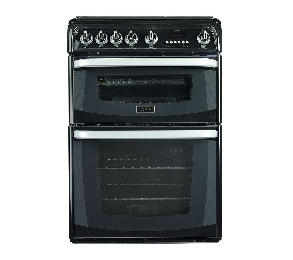 Image of CANNON Carrick CH60GCIK Gas Cooker - Black, Black