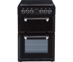 STOVES Richmond 550E Electric Ceramic Cooker - Black