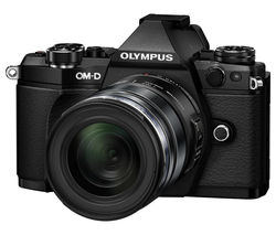 OLYMPUS OM-D E-M5 Mark II Compact System Camera with M.ZUIKO 12-50 mm f/3.5-6.3 Zoom Lens