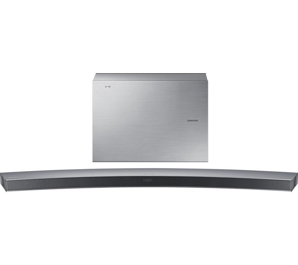 samsung hw j6501 6 1 wireless curved sound bar. Black Bedroom Furniture Sets. Home Design Ideas