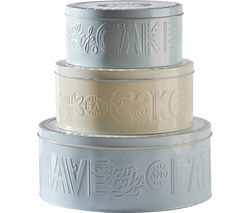 MASON CASH Bake My Day Cake Tins - Set of 3