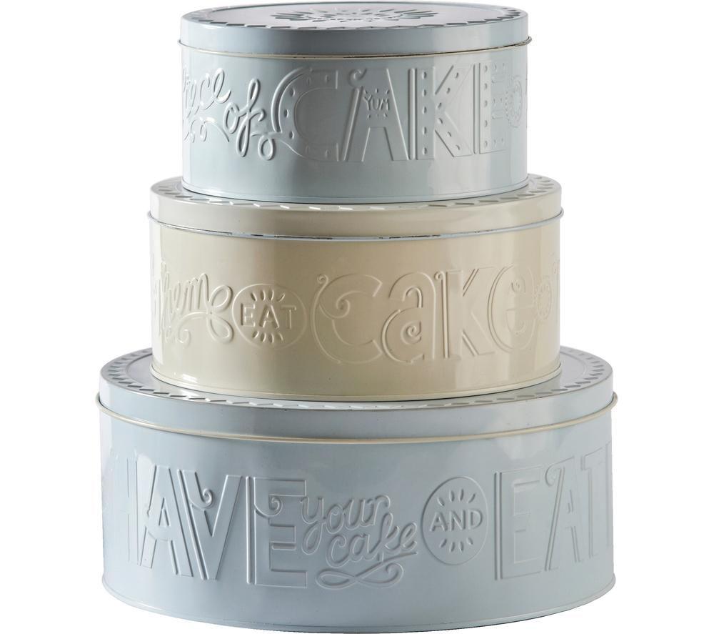 MASON CASH Bake My Day Cake Tins - Set of 3