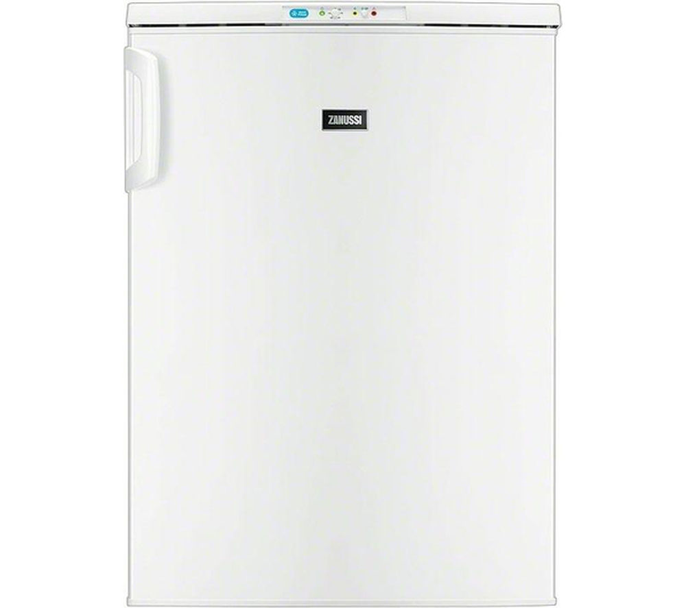 ZANUSSI  ZFT10210WA Undercounter Freezer - White +  ZDH8333W Heat Pump Tumble Dryer - White