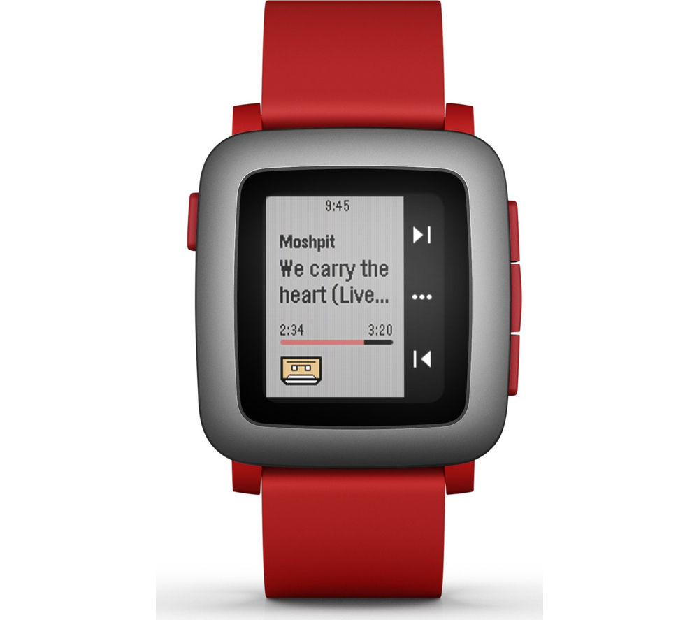 Buy PEBBLE Time SmartWatch