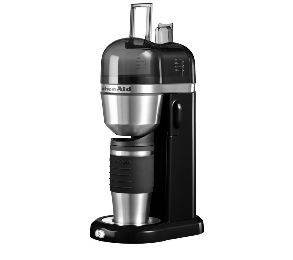 Kitchenaid Coffee Maker How To Use : Buy KITCHENAID 5KCM0402BOB Personal Coffee Maker - Onyx ...