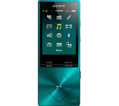 SONY Walkman NW-A25HNL 16 GB MP3 Player with FM Radio - Blue
