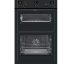 NEFF U15E52S5GB Electric Double Oven - Black