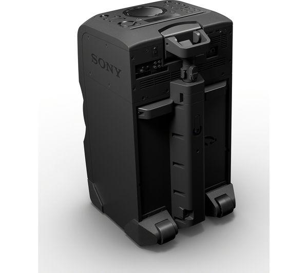 sony mhc gt4d wireless megasound hi fi system black deals pc world. Black Bedroom Furniture Sets. Home Design Ideas