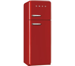 SMEG FAB30RFR Fridge Freezer - Red