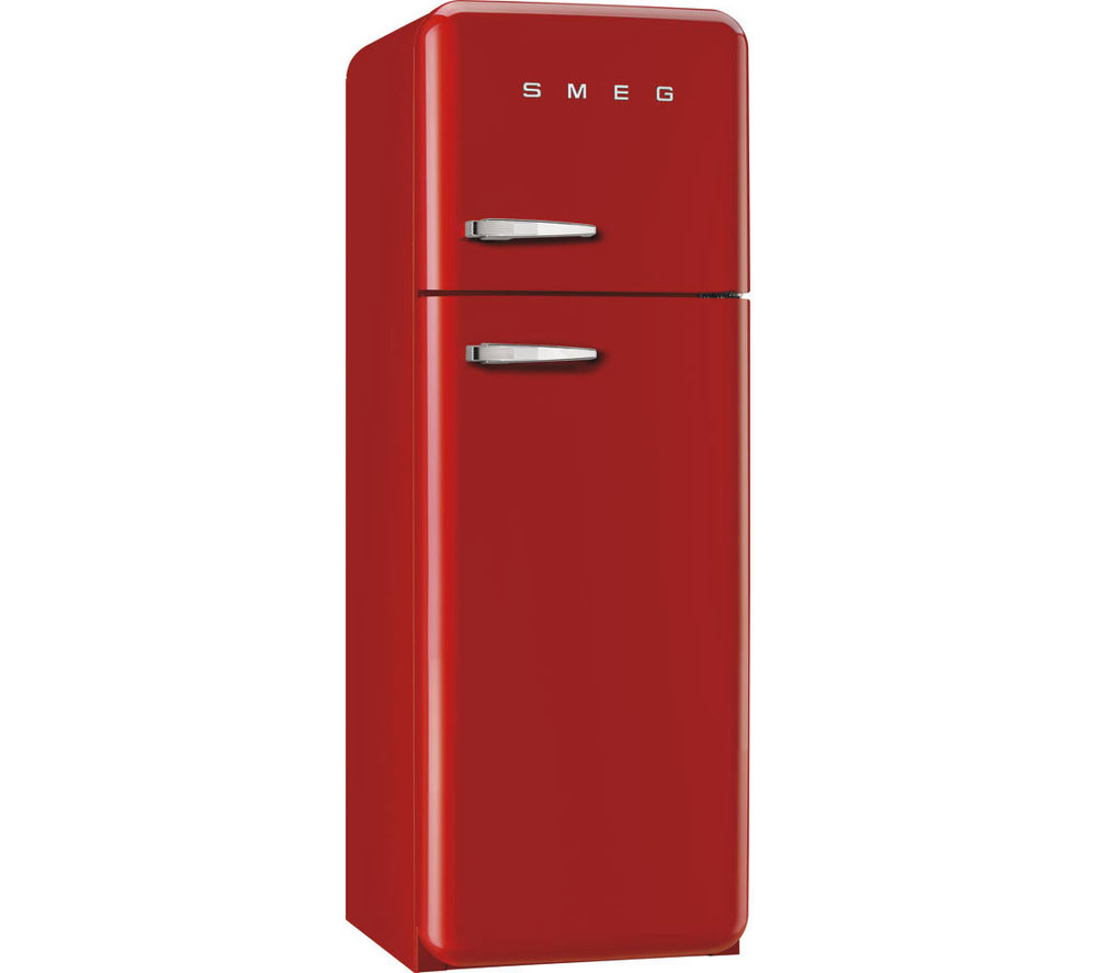 Red smeg fridge freezer