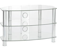 PHILEX Vantage 800 TV Stand - Chrome