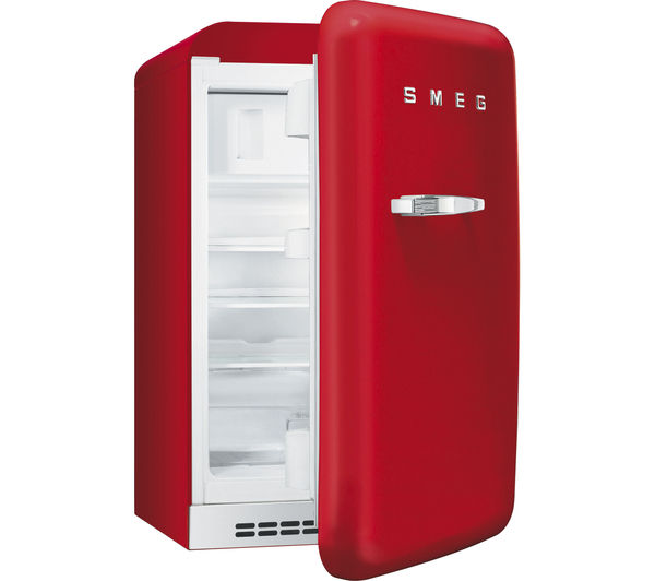 Buy Smeg Fab10hrr Mini Fridge Red Free Delivery Currys