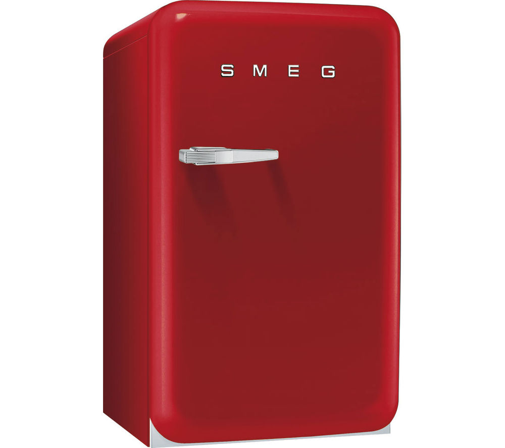 buy smeg fab10hrr mini fridge red free delivery currys. Black Bedroom Furniture Sets. Home Design Ideas